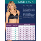 Body Caress Full Coverage Underwire Bra Midnight Black