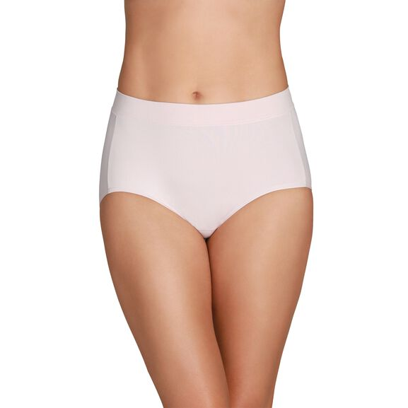 Beyond Comfort® Seamless Waistband - Brief Sheer Quartz