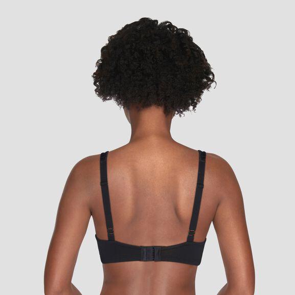 Body Caress Full Coverage Wirefree Bra Midnight Black