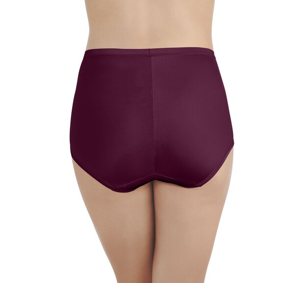 Smoothing Comfort Brief Panty with Lace IMPERIAL GREY
