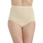 Perfectly Yours® Seamless Tailored Brief Damask Neutral