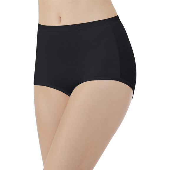 Body Caress Brief Panty Midnight Black