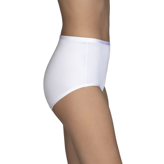 Body Caress Brief Panty Star White