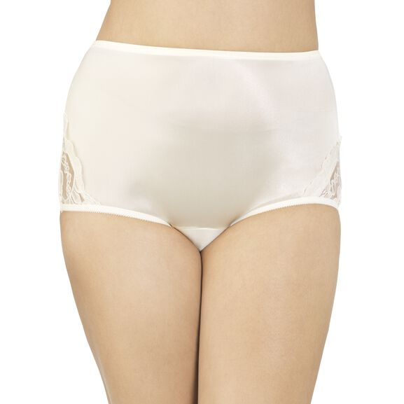 Perfectly Yours Lace Nouveau Full Brief Panty Candleglow