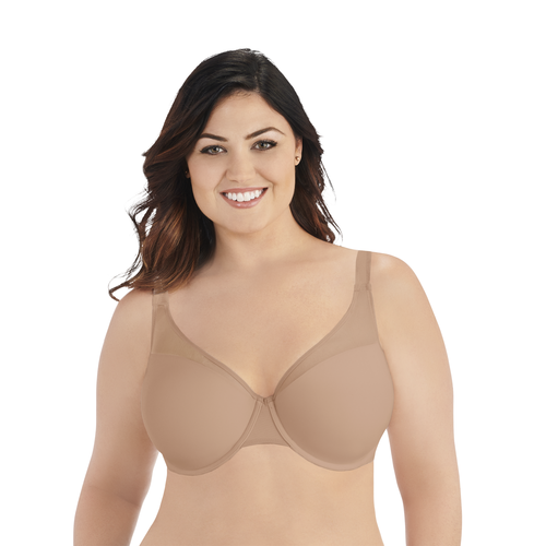 Breathable Luxe Full Figure Underwire Honey Beige
