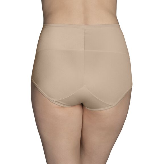 Smoothing Comfort 360° Brief Panty Damask Netural