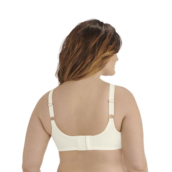 Breathable Luxe Full Figure Underwire Coconut White