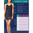Everyday Layers Single Slit Half Slip Midnight Black
