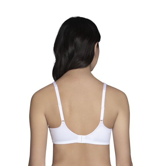 Body Shine Full Coverage Wirefree Bra STAR WHITE
