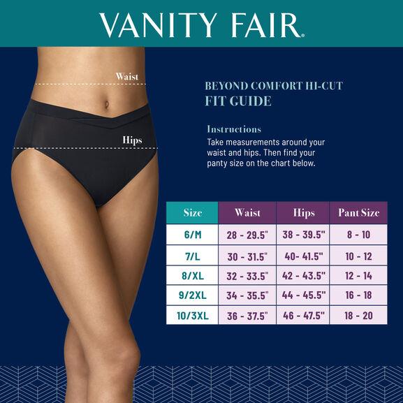 Beyond Comfort® Silky Stretch Hi-Cut Sheer Quartz