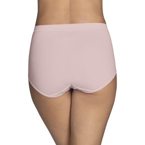 Beyond Comfort Silky Stretch Brief Sheer Quartz