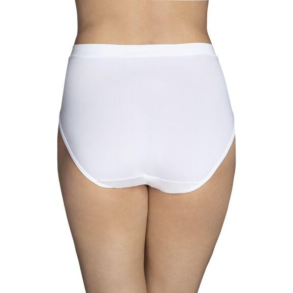 Beyond Comfort Silky Stretch Hi-Cut Star White