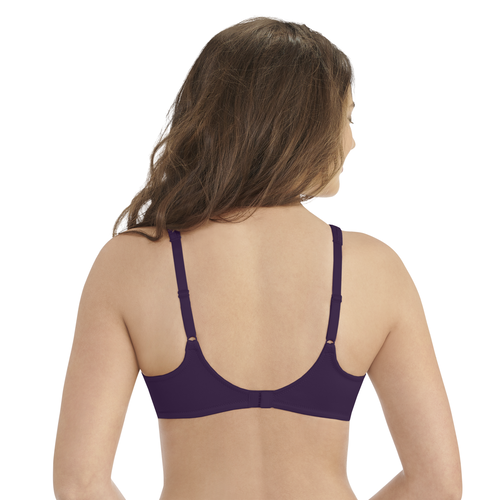 Body Shine Full Coverage Underwire Deep Mulberry