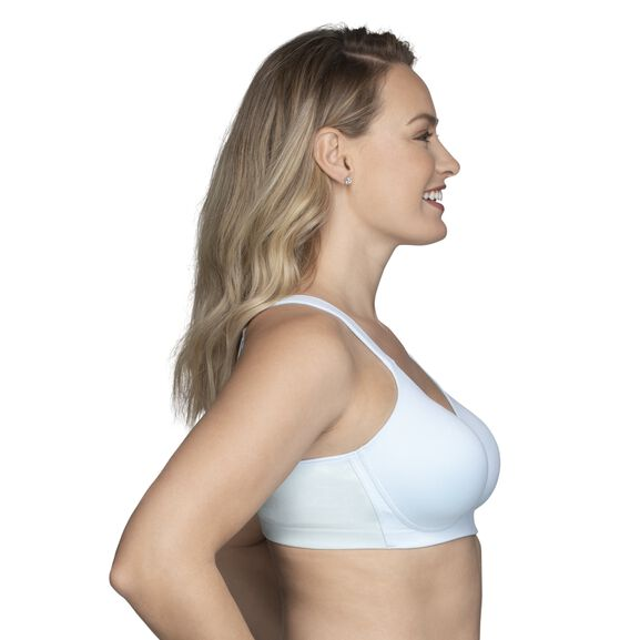 Beyond Comfort Full Figure Wirefree Bra Clear Water