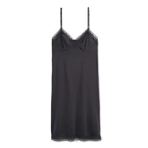 Rosette Lace™ Full Slip Midnight Black