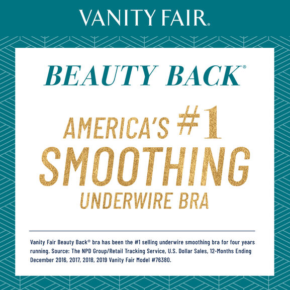 Beauty Back Full Figure Underwire Smoothing Bra Earthy Grey Jacquard