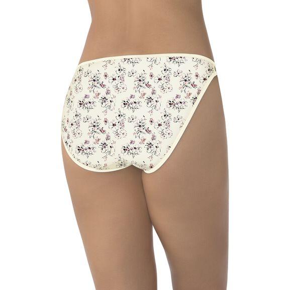 Illumination String Bikini Panty Bouquet Print