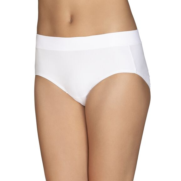 Beyond Comfort Hipster Panty Star White