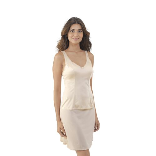 Daywear Solutions Built-up Camisole Damask Neutral