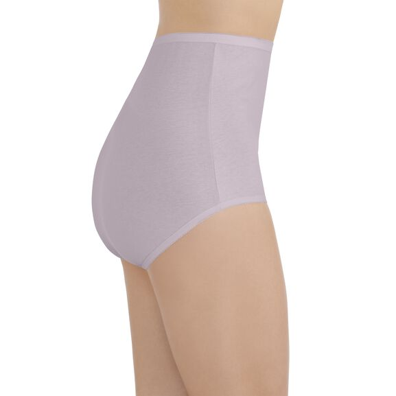 Perfectly Yours Tailored Cotton Full Brief Panty Earthy Grey