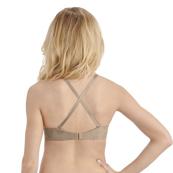 Ego Boost Add-A-Size Push Up Bra Barely Beige