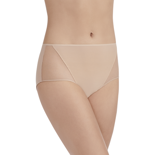 Breathable Luxe Hipster Panty HONEY BEIGE
