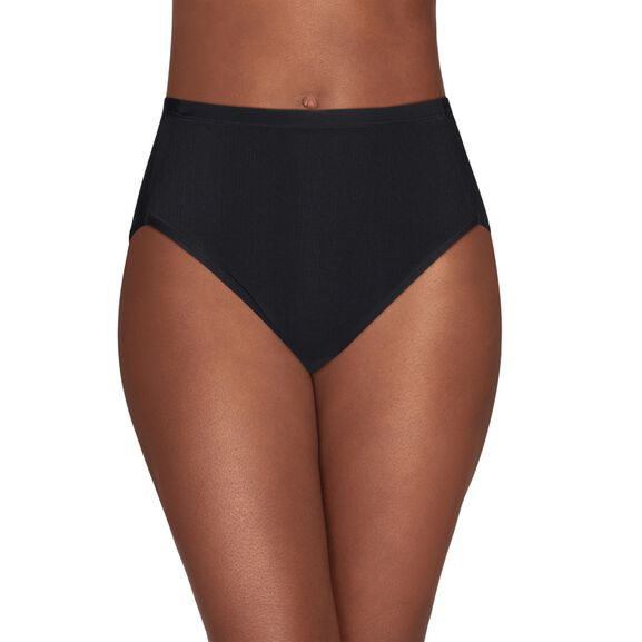 Cooling Touch Hi-Cut Panty Midnight Black