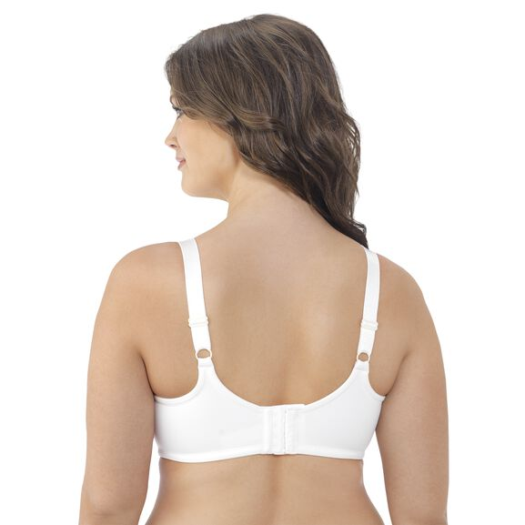 Beauty Back Full Figure Underwire Minimizer Coconut White Orchid