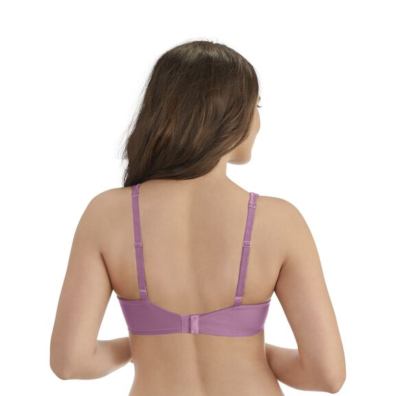 Body Caress Full Coverage Underwire Bra Rosy Glow