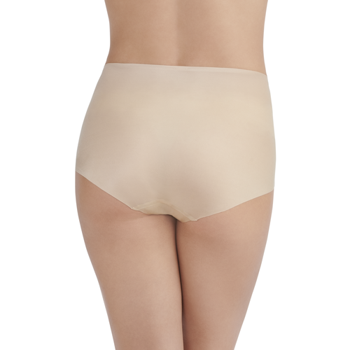 Nearly Invisible™ Brief Panty DAMASK NEUTRAL