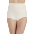 Perfectly Yours® Tailored Cotton Brief Fawn