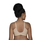 Full Figure Wirefree Extended Side and Back Smoother Bra Damask Neutral