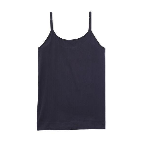 Seamless Tailored Camisole Midnight Black