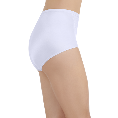 Smoothing Comfort Lace Brief Star White