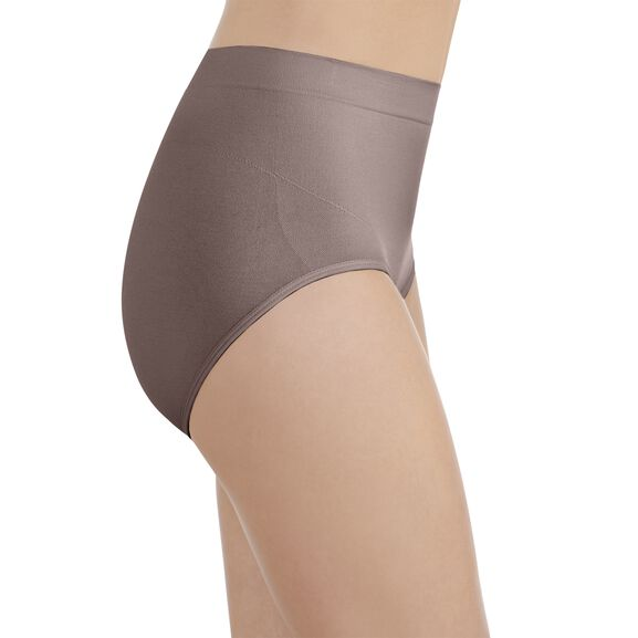 Smoothing Comfort Seamless Brief Panty Walnut