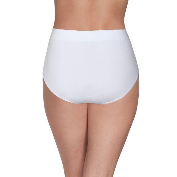 No Pinch No Show Seamless Brief Panty Star White
