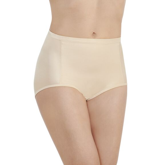 Smoothing Comfort Brief Panty Damask Neutral