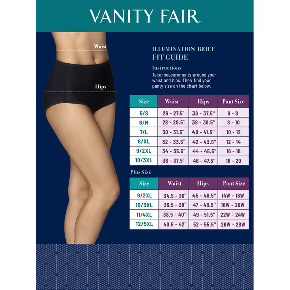 Illumination Brief Panty, 3 Pack Multi Pack 20
