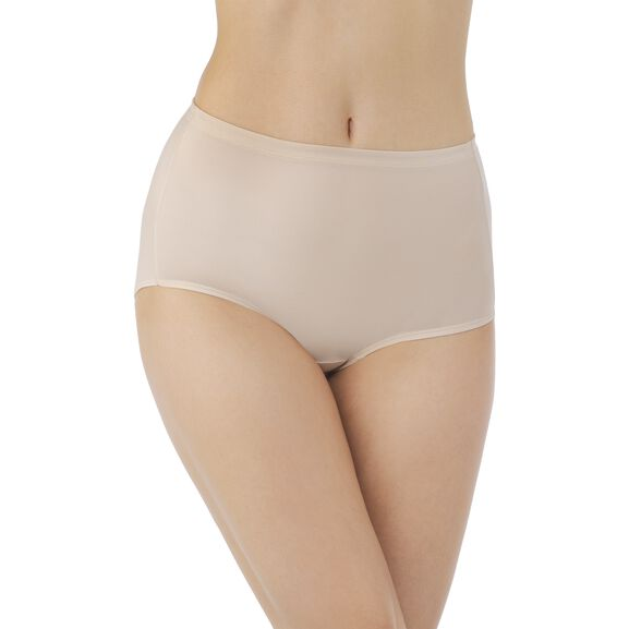 Cooling Touch Brief Panty Rose Beige