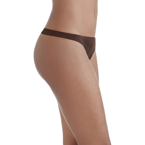 Nearly Invisible™ Thong Panty CAPPUCCINO
