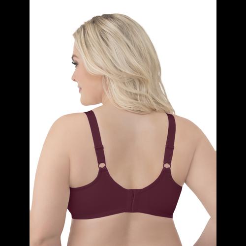 Beauty Back® Lace Full Figure Underwire Bra Maroon