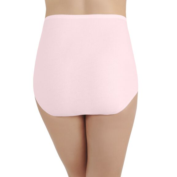 Perfectly Yours Tailored Cotton Full Brief Panty Ballet Pink