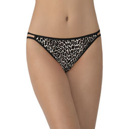 Limited Edition Leopard Print Illumination String Bikini