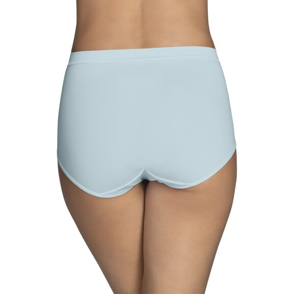 Beyond Comfort Silky Stretch Brief Clear Water