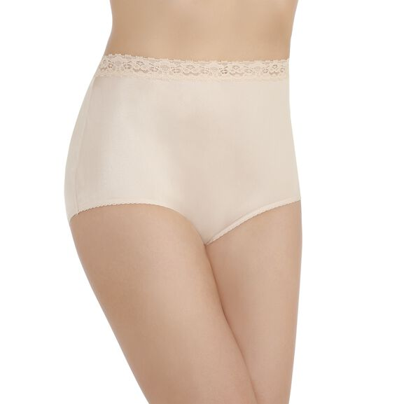 Perfectly Yours Lace Full Brief Panty Rose Beige