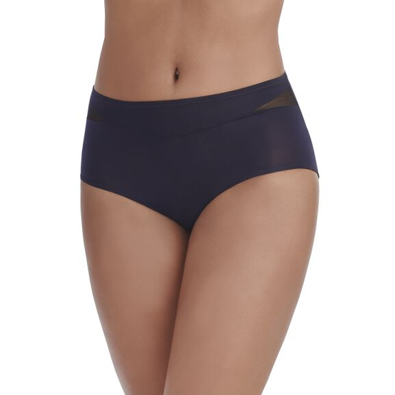 Breathable Luxe Brief Panty MIDNIGHT BLACK