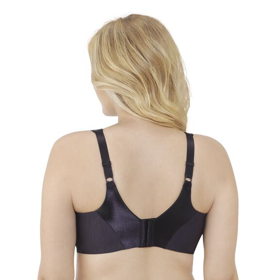 Illumination Zoned In Support Full Figure Underwire Bra Midnight Black