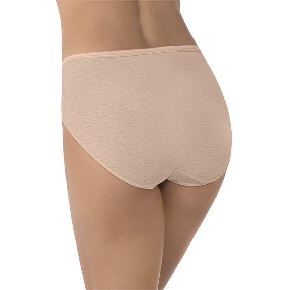 Illumination Hi-Cut Panty, 3 Pack Rose Beige/Rose Beige/Rose Beige