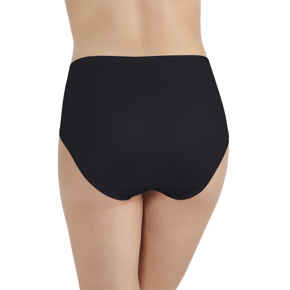 Body Caress Hi-Cut Panty Midnight Black