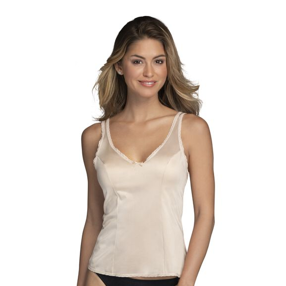 Everyday Layers Traditional Cami Damask Neutral